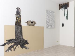 Carien-Vugts-deeloverzicht-tentoonstelling-Valavond-bij-Galerie-SANAA