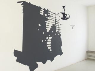 atelierwerkCarien Vugts, kunstenaar, werk-in-situ, tekeningen, wandobjecten, recent works, drawings, objects, work in situ, installaties, site specific art