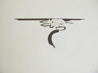 atelierwerkdetailCarien Vugts, kunstenaar, werk-in-situ, tekeningen, wandobjecten, recent works, drawings, objects, work in situ, installaties, site specific art