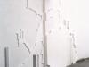 alarmkortewand,Carien Vugts, kunstenaar, werk-in-situ, tekeningen, wandobjecten
